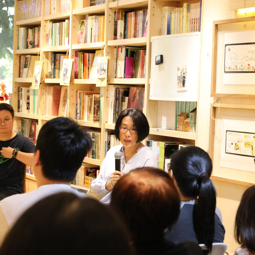 Once Upon A Singapore... Traders, sharing session at City Book Room. Why I looked so tired? lol