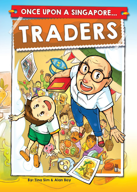 Once Upon A Singapore... Traders Book cover