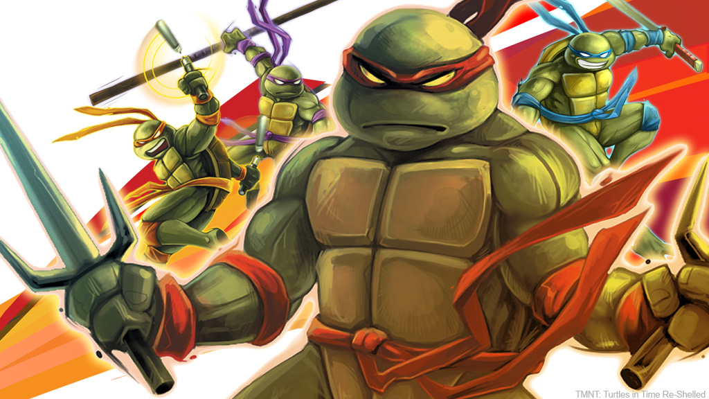 TMNT: Turtles in Time: Reshelled