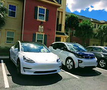 CleanTechnica-Apartment charging of EVs.