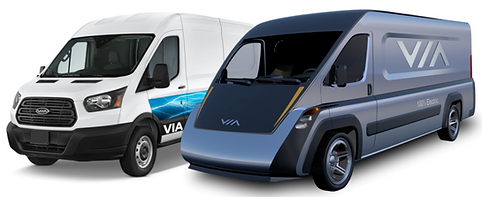 VIA Class 3 Electric Commercial Vehicle.