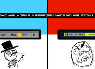 Como melhorar a performance no Ableton