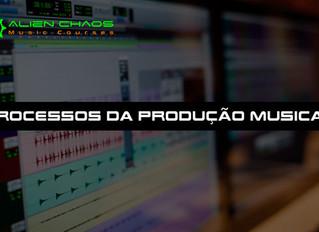 Entenda os processos da produção musical