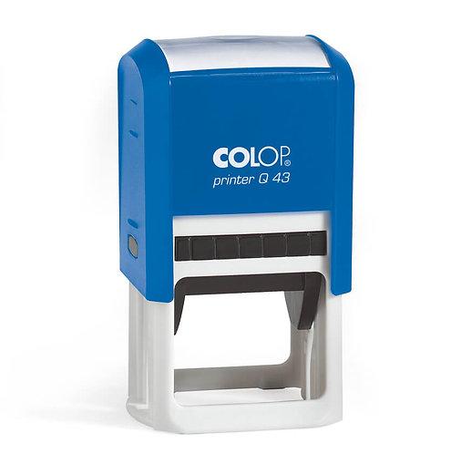 COLOP printer Q 43 (43х43мм)