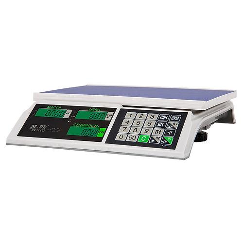 """Весы торговые M-ER 326 """"SLIM"""" AC LCD"""
