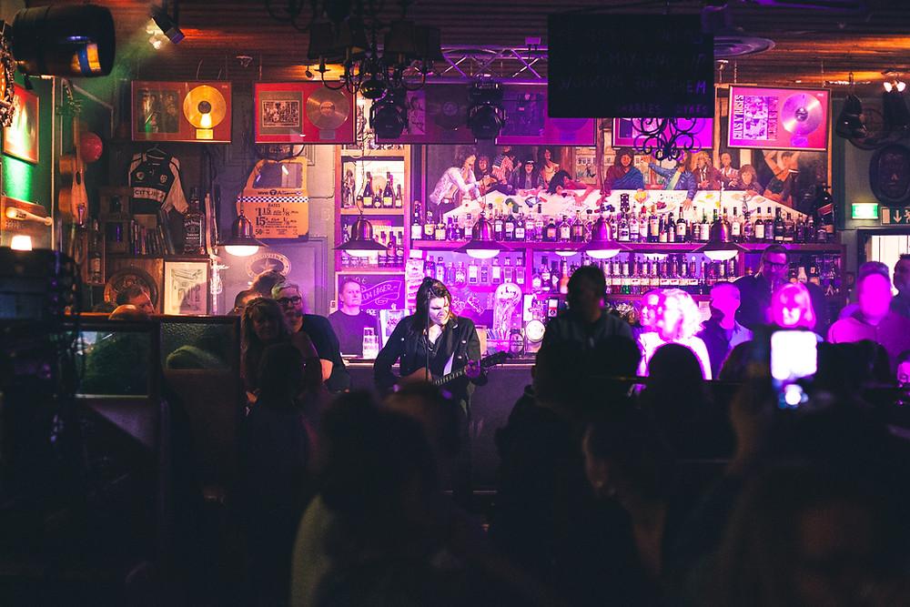 Andre Linman live at Pub Grönan