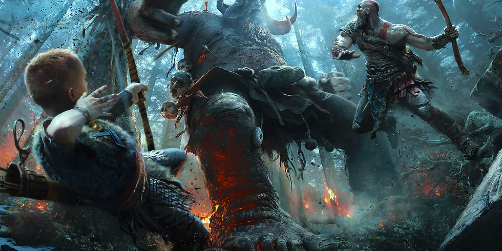 God of War Rage Fest by QueenIceWhite