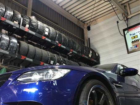 BMW E92 M3の車検整備とDCTF(デュアルクラッチトランスミッションフルード)交換