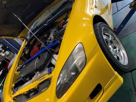 ホンダS2000AP1 SPIRIT車高調SPEC-S 取付け