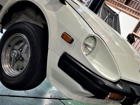 FairladyZ S130 ダウンサス交換
