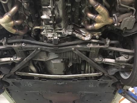 PORSCHEポルシェ911 エンジンオイル交換