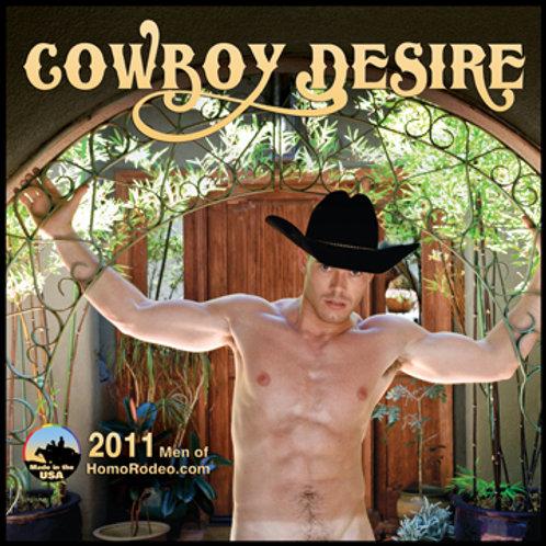 Calendars - 2011 Cowboy Desire *Semi-nude