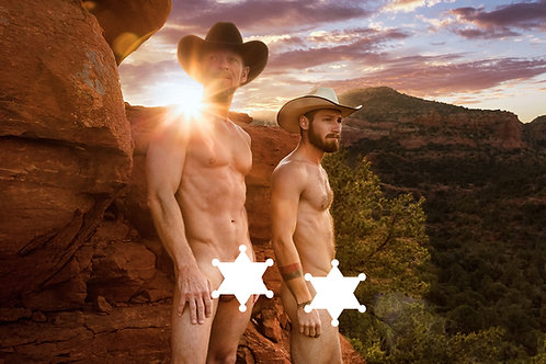 Cowboy Father/Son - Blank Cards (5/package)