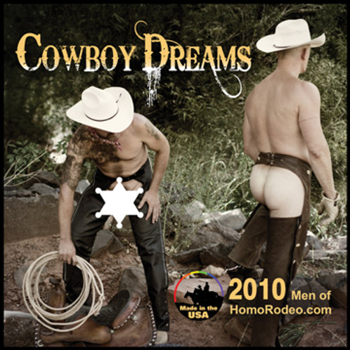 Calendars - 2010 Cowboy Dreams *Full-nude