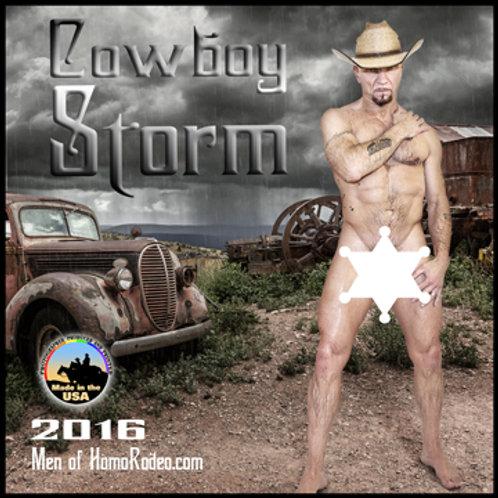 Calendars - 2016 Cowboy Nights *Full-nude