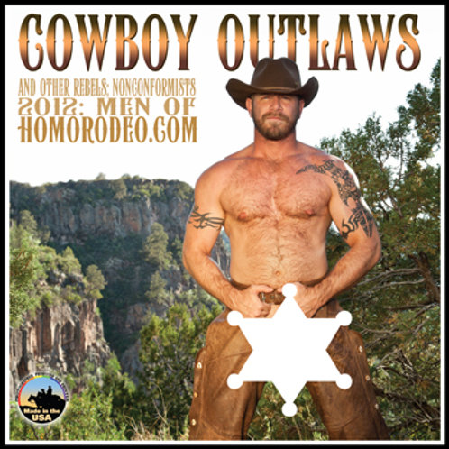 Calendars - 2012 Cowboy Outlaws *Full-nude