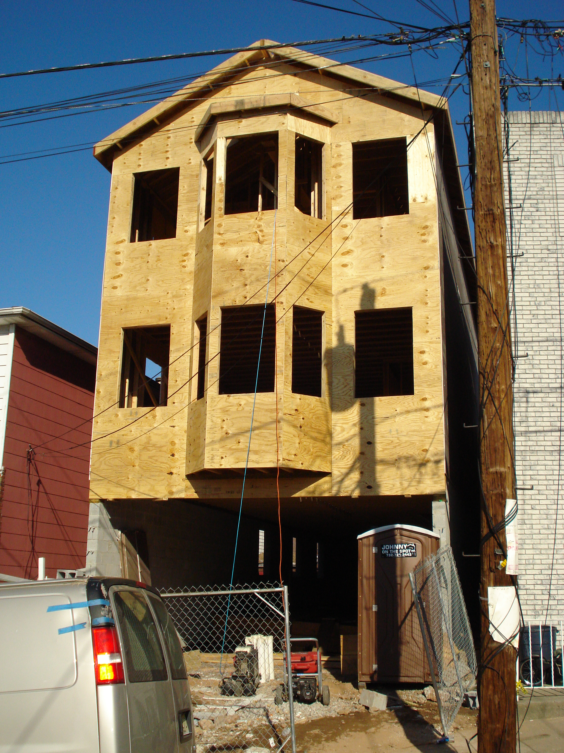 New Construction of Custom 1 Family House Zabriskie St, Jersey City