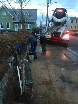 Cement Pouring 274 Lembeck Ave