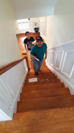 Painting and Refinishing Stairs, Kearny, NJ