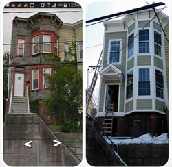 Before and After Pics 447 Mercer St, Jersey City, NJ