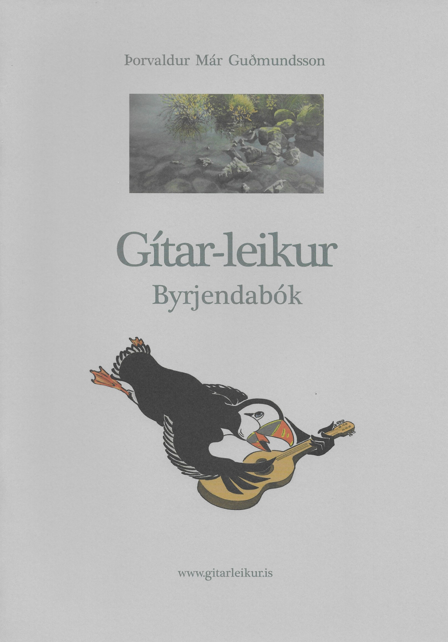 skönnuð forsíða