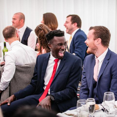 Guests at Cranleigh Golf Club wedding