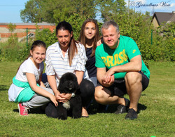 Rio met his family