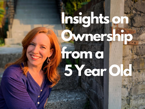 Insights on Ownership From a 5-year-old