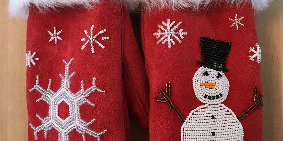 Learn to create Mitts with Shirley Peters