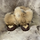 Thumbnail: Coyote Fur Leather Moccasins