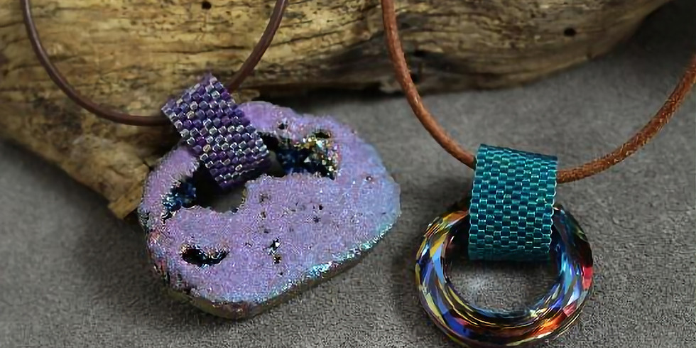 Peyote Pendent with Bonnie Penner