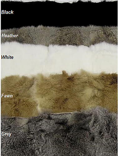 Rabbit Plate Furs (Small)