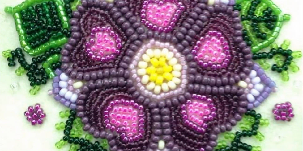 Bead Embroidery with Amber Cook