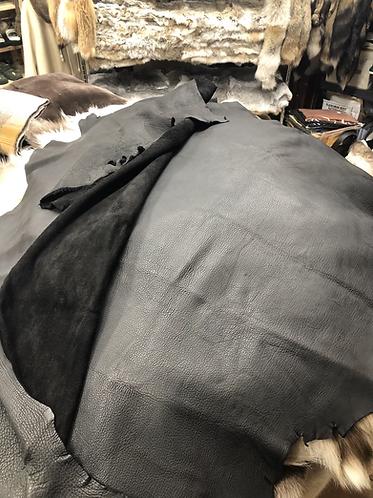 Buffalo Leather 2oz. Black