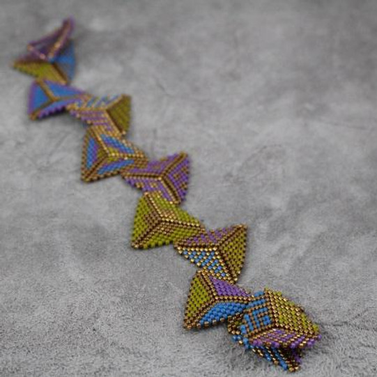 Triangles Bracelet with Bonnie Penner
