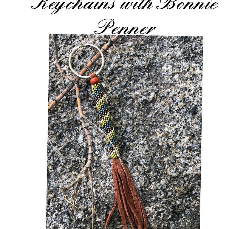 Peyote Beaded Keychain with Bonnie Penner