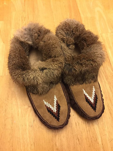 DIY Moccasin Kit (Adult Extended 12.5 - 13 Inches) With Video Tutorial