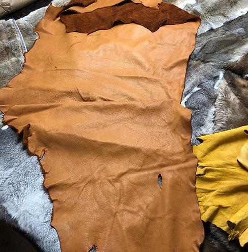 Bison Cinnamon Leather