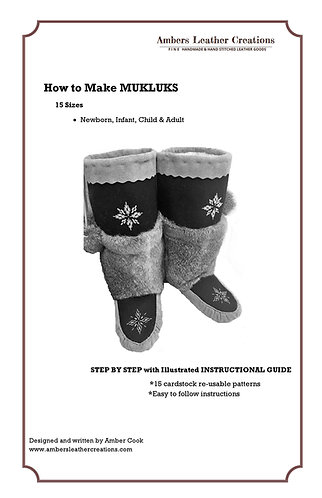 How to make Mukluks Book & Patterns NEW