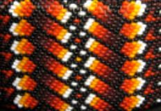 Seed Beads 10/0 - Red & Orange