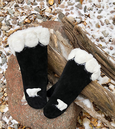 Ladies Polar Bear Gauntlets