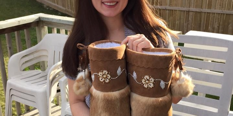 Create your Custom Mukluks with Amber Cook
