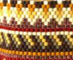 Seed Beads 10/0 Yellow & Brown