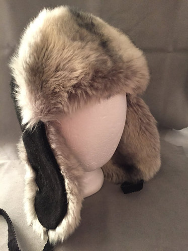 DIY Fur Aviator Hat Kit (Adult Sizes) With Video Tutorial