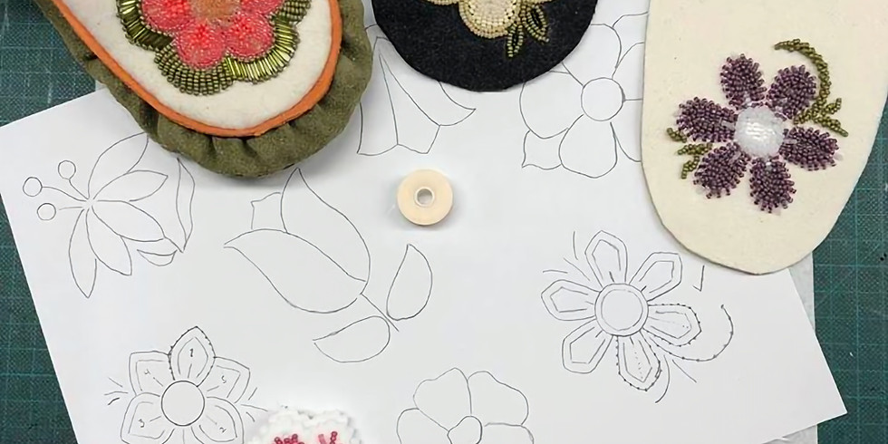 Raised Beading  with Amber Cook