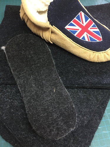 1/4' thick Felt Insoles  8 x 12 inch