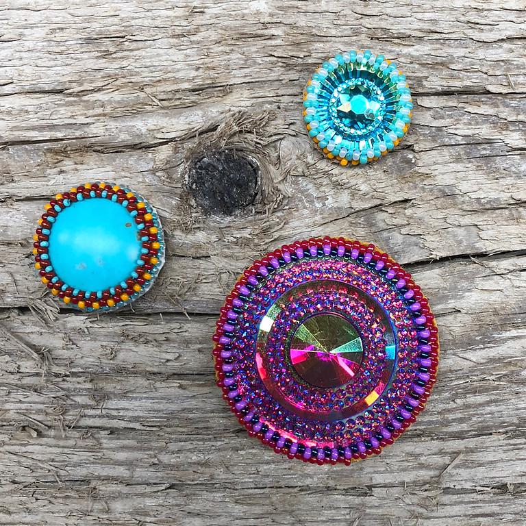 Bead Around a Cabochon with Bonnie Penner