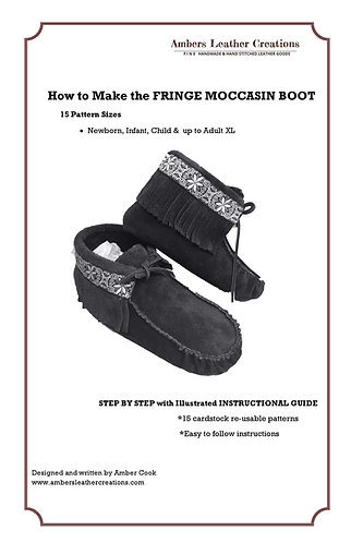 How to make Fringe Boots Book & Patterns NEW