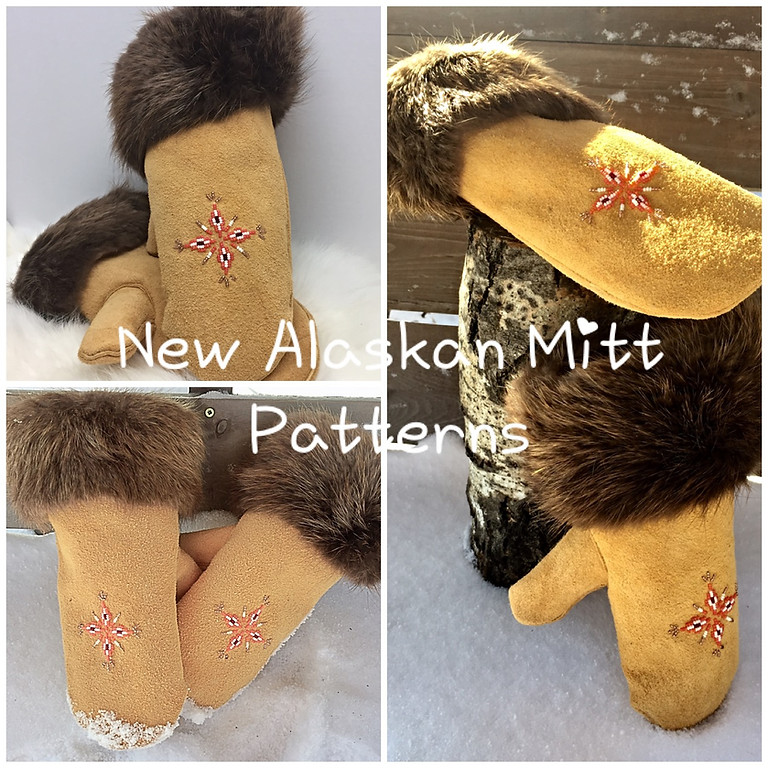 Learn to create the Alaskan Style Mitts with Amber