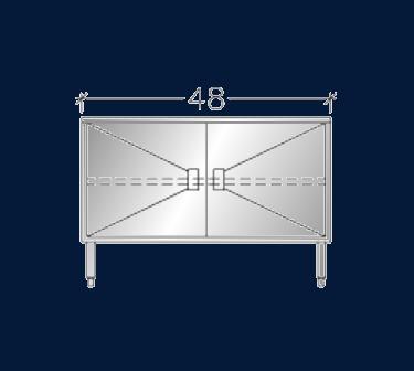 """24"""" x 4' ASEI-BTHD-2448"""